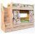 Кровать Сканд-Мебель КШ2-2 80*190 без матраса с лестницей Шервуд