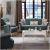 Набор мягкой мебели Bellona Астория (диван + кресло) ASTR-03-P/B0025