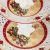 Фруктовница Арти М 586-158 3 яруса Christmas collection