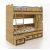 Кровать Сканд-Мебель К6 Корсар