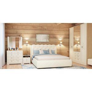 Купить Кровать Аквилон 16ПМ Капелла 160*200 с подъемным механизмом цвет туя светлая
