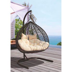 Купить Подвесное кресло ЭкоДизайн Gemini (Y0070) для двоих
