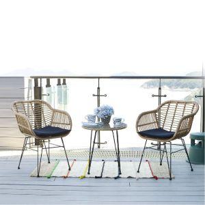 Купить Комплект мебели ЭкоДизайн 210334 кофейный (стол + кресла)