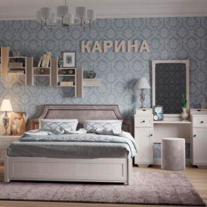 Купить Кровать ГМФ К306 люкс Карина 180*200 с подъемным механизмом цвет бодега светлый