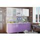 Кухонный гарнитур BTS Люкс 2м цвет акварель/фотопечать
