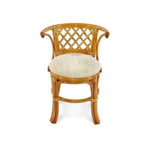 Купить Комплект мебели из натурального ротанга ЭкоДизайн 03/03 для завтрака цвет коньяк