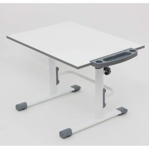 Купить Комплект детской мебели ВПК растущие парта + стул цвет бело-серый