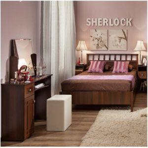 Купить Спальный гарнитур ГМФ Sherlock цвет орех шоколадный