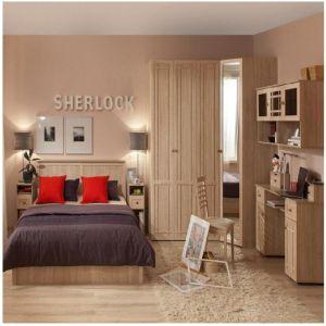 Купить Спальный гарнитур ГМФ Sherlock цвет дуб сонома