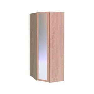Купить Шкаф угловой ГМФ ШУ63 с зеркалом Sherlock цвет дуб сонома