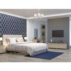 Купить Кровать Аквилон К14 140*200 с подъемным механизмом Калипсо цвет туя светлая