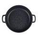 Сотейник Casta Megapolis СЗ28-СТ 28 см с крышкой цвет черный