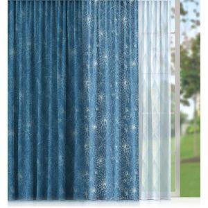 Купить Шторы Праймтекс Волшебная ночь Emma Gabardin Provance 150*270 цвет голубой