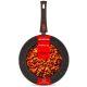 Сковорода MoulinVilla Brownstone BS-28-DI-DH 28 см цвет коричневый