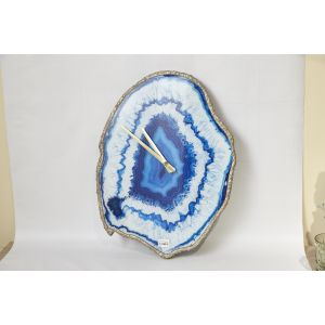 Купить Настенные часы Арти М 108-108 кварцевые цвет синий