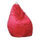 Пуф Комфорт-S Груша цвет оксфорд 240 красный