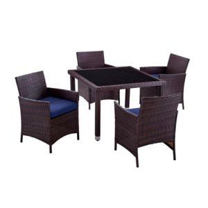 Купить Комплект мебели ЭкоДизайн Helsinki (стол + 4 кресла)
