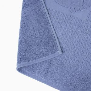 Купить Коврик АРИЯ Winter Soft 50*70 цвет голубой