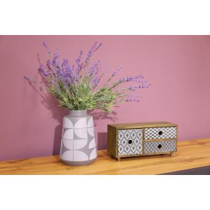 Купить Шкатулка Русские подарки 38602 30*12*15 см цвет бежевый/серый