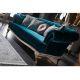 Диван Bellona Элит 3-местный цвет 0W43D-ELITE-01 синий