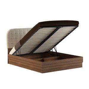 Купить Кровать АСМ-Модуль К1 160*200 с подъемным механизмом Верона цвет слива валис