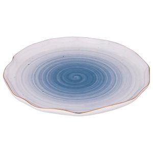 Купить Блюдо Арти М 388-563 Колор де Аква 25*25*2 см цвет синий