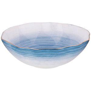 Купить Салатник Арти М 388-569 Колор де Аква 22*22*7 см цвет синий