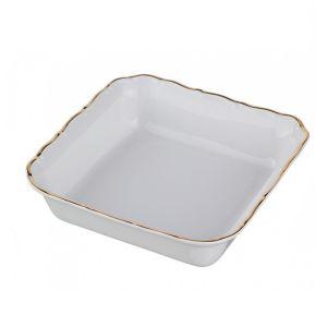 Купить Салатник Арти М 655-111 Офелия 662 цвет белый/золотой