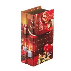 Купить Шкатулка Арти М 41-345 Новогодний интерьер 25,5*14,5*9 см