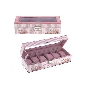 Купить Шкатулка РЕМЕКО 612509 для часов 30*11*8 см цвет розовый