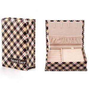 Купить Шкатулка Русские подарки 84577 15*11*5 см цвет бежевый/коричневый