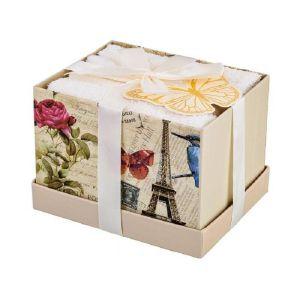 Купить Набор салфеток Арти М 813-069 (4 шт.) 30*30 цвет экрю