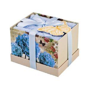 Купить Набор салфеток Арти М 813-075 (4 шт.) 30*30 цвет голубой