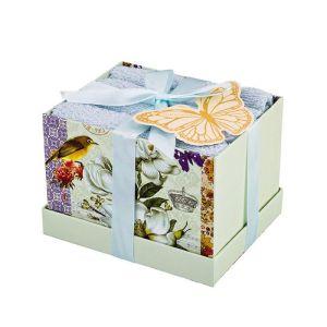 Купить Набор салфеток Арти М 813-078 (4 шт.) 30*30 цвет голубой