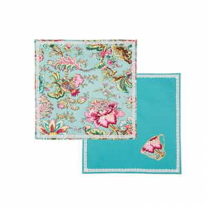 Купить Набор салфеток Арти М 850-818-4 Райский сад (2 шт.) 38*38 цвет мультиколор