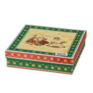 Купить Фруктовница Арти М 586-158 3 яруса Christmas collection