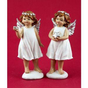 Купить Фигурка декоративная Русские подарки 72749 Рождественский ангел 6*6*16 см