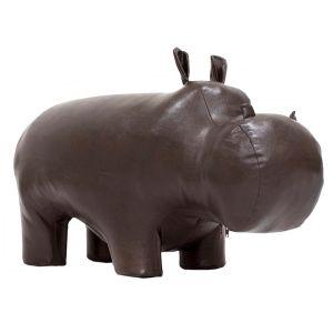 Купить Пуф Мебель Импэкс Бегемот мини цвет тёмно-коричневый