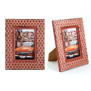 Купить Фоторамка Русские подарки 29849 Куба 18*23 см цвет коралловый