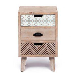 Купить Тумба TetChair 63001-3 с 3 ящиками цвет натуральный