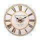 Настенные часы Русские подарки 138640 34*1*34 см цвет белый/бежевый