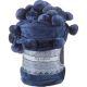 Плед Арти М 981-003 с помпонами Синяя ночь 150*200 см цвет синий