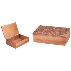 Купить Шкатулка Русские подарки 38634 24*16*7 см цвет дерево