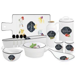 Купить Столовый набор Анна Лафарг Кухня в стиле Ретро