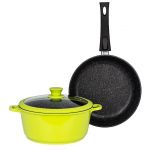 Набор посуды Casta НАБ-004 цвет зелёный