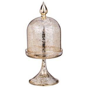 Купить Ваза Арти М 862-164 Конус 11*24 см цвет античное золото