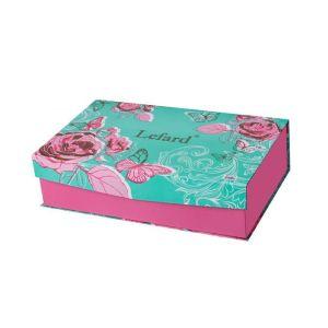 Купить Чайный набор Арти М 115-271 на 6 персон (12 предметов) цвет белый/розовый