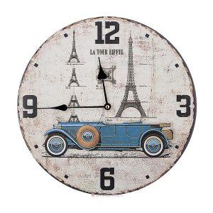 Купить Часы Арти М 799-164 Серия Винтаж 34*34*4,5 см цвет бежевый/бирюза