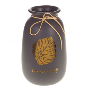 Купить Ваза РЕМЕКО 724969 25 см цвет коричневый/золото