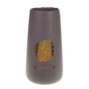 Купить Ваза РЕМЕКО 724971 30 см цвет коричневый/золото